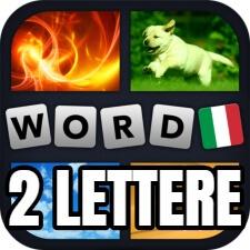 4 immagini 1 parola 2 lettere