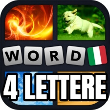 4 lettere 4 imagini 1 parola