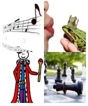 4 Immagini 1 Parola 2 Lettere RE