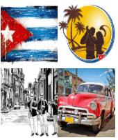 4 Immagini 1 Parola 4 Lettere CUBA