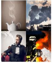 4 Immagini 1 Parola 4 Lettere FUMO