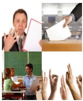 4 Immagini 1 Parola 4 Lettere VOTO