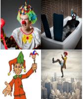 4 Immagini 1 Parola 5 Lettere BUFFO