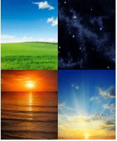 4 Immagini 1 Parola 5 Lettere CIELO