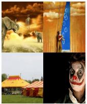 4 Immagini 1 Parola 5 Lettere CIRCO