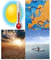 4 Immagini 1 Parola 5 Lettere CLIMA