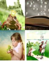 4 Immagini 1 Parola 5 Lettere FIABA