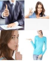4 Immagini 1 Parola 5 Lettere GESTO