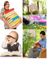 4 Immagini 1 Parola 5 Lettere LIBRO