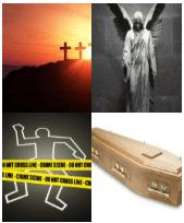 4 Immagini 1 Parola 5 Lettere MORTE