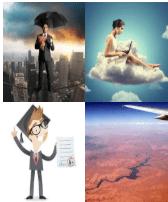 4 Immagini 1 Parola 5 Lettere SOPRA