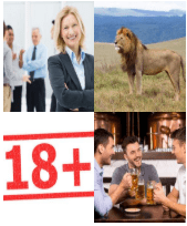 4 Immagini 1 Parola 6 Lettere ADULTO