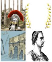 4 Immagini 1 Parola 6 Lettere CESARE