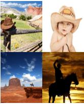 4 Immagini 1 Parola 6 Lettere COWBOY