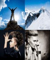 4 Immagini 1 Parola 6 Lettere CRESTA