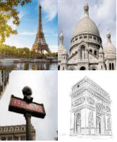 4 Immagini 1 Parola 6 Lettere PARIGI
