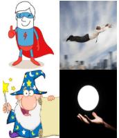 4 Immagini 1 Parola 6 Lettere POTERI