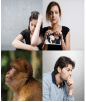 4 Immagini 1 Parola 6 Lettere TRISTE