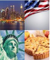 4 Immagini 1 Parola 7 Lettere AMERICA