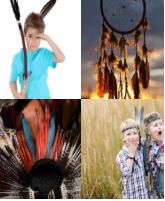 4 Immagini 1 Parola 7 Lettere INDIANI