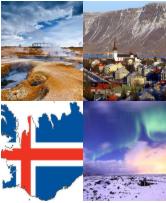 4 Immagini 1 Parola 7 Lettere ISLANDIA