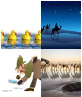 4 Immagini 1 Parola 7 Lettere SEGUIRE
