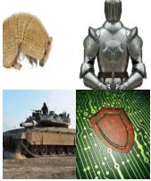 4 Immagini 1 Parola 8 Lettere ARMATURA