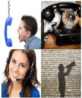 4 Immagini 1 Parola 8 Lettere CHIAMARE
