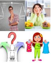 4 Immagini 1 Parola 8 Lettere DECIDERE
