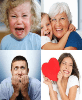 4 Immagini 1 Parola 8 Lettere EMOZIONI
