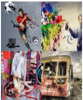 4 Immagini 1 Parola 8 Lettere GRAFFITI