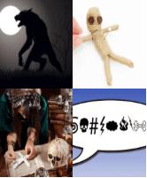 4 Immagini 1 Parola 8 Lettere MALEDIRE