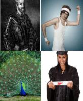 4 Immagini 1 Parola 8 Lettere ORGOGLIO