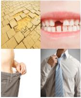 4 Immagini 1 Parola 9 Lettere ALLENTATO
