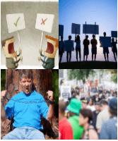 4 Immagini 1 Parola 9 Lettere ATTIVISTI