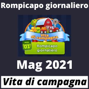 Rompicapo giornaliero mag 2021 Vita di campagna