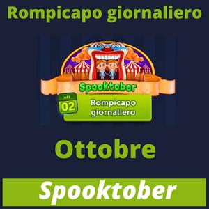 Rompicapo Giornaliero Ottobre 2021 Spooktober